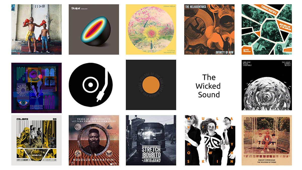 The Wicked Sound Playlist 2020.02.1 cover Jazz Funk Soul Beats