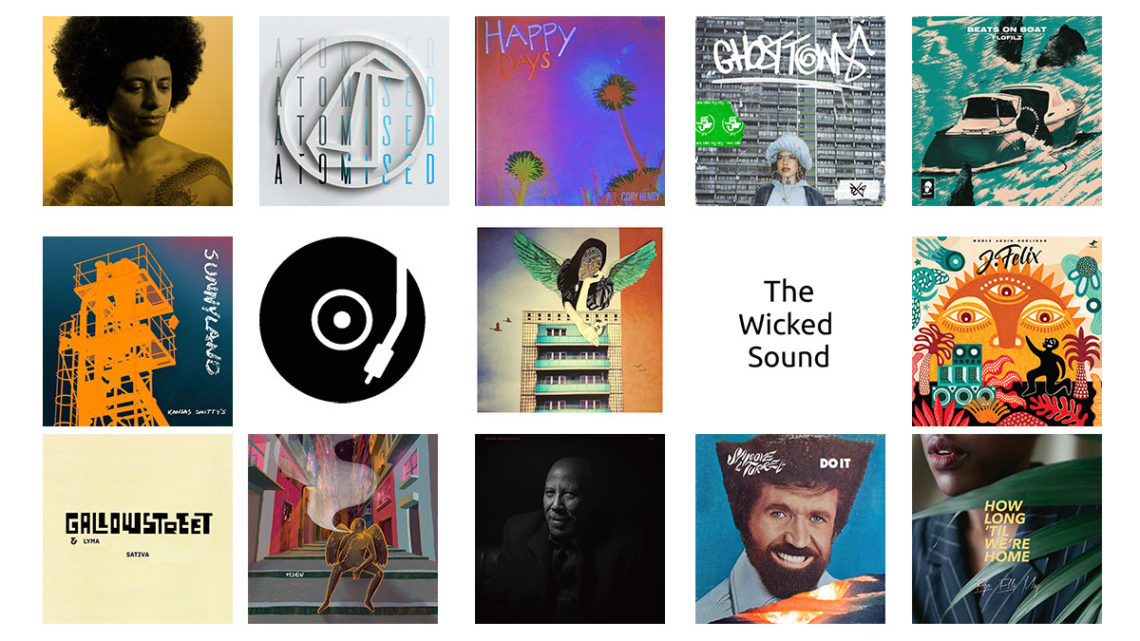 The Wicked Sound Playlist 2020.03.2 cover Jazz Funk Soul Beats