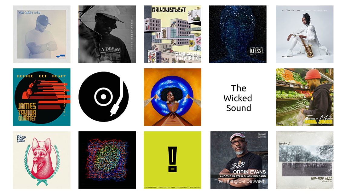 The Wicked Sound Playlist 2020.04.1 cover Jazz Funk Soul Beats