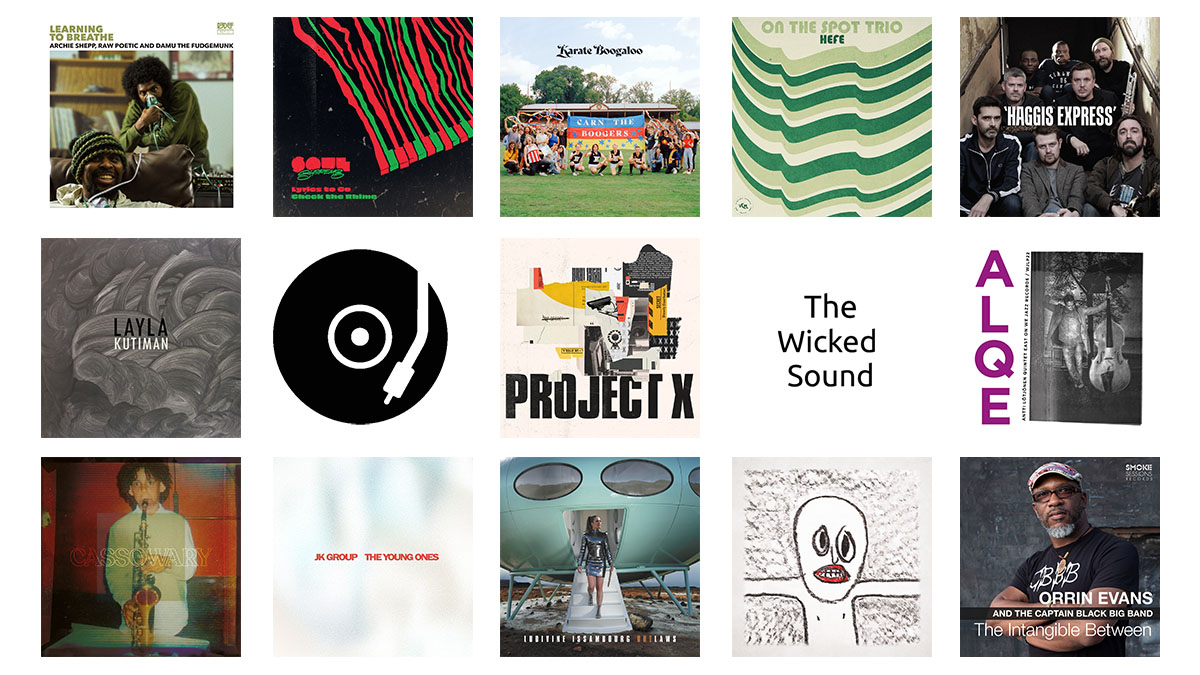 The Wicked Sound Playlist 2020.05.1 cover Jazz Funk Soul Beats