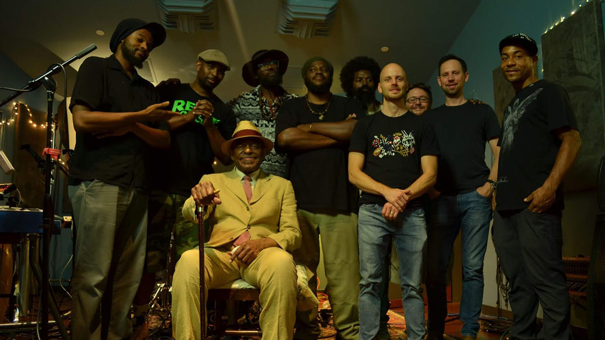 """Archie Shepp, Raw Poetic, and Damu The Fudgemunk joined forces on the album """"Ocean Bridges"""""""