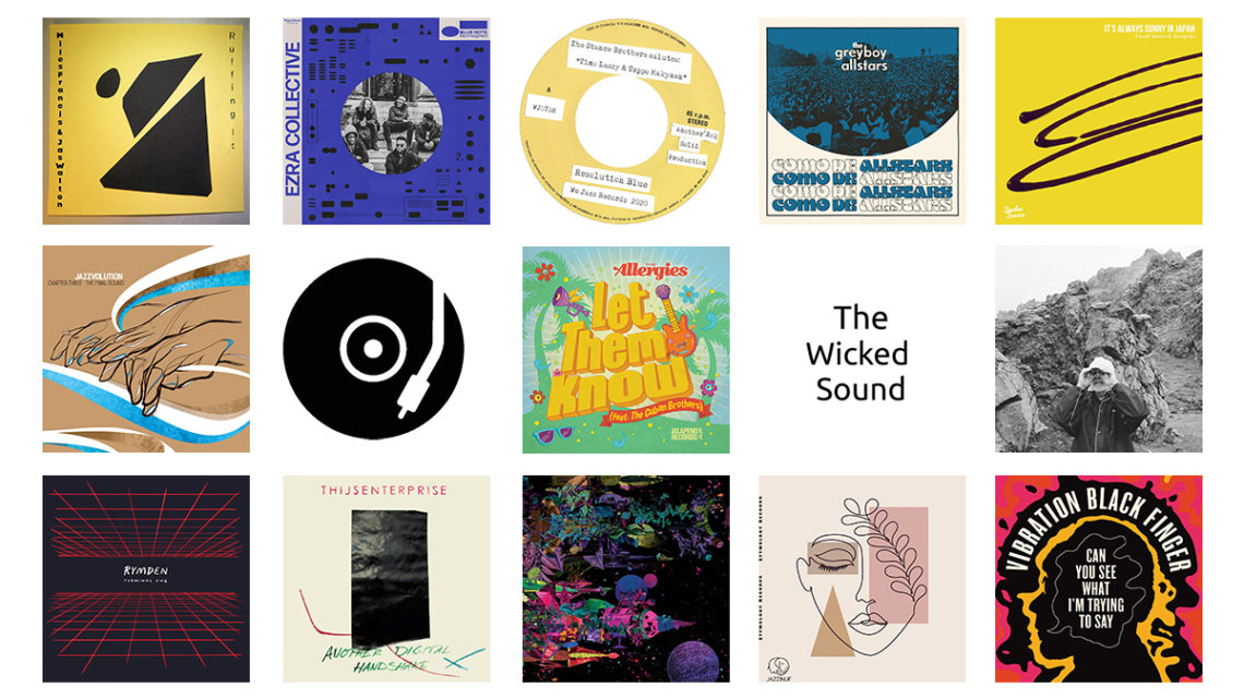 The Wicked Sound Playlist 2020.06.4 cover Jazz Funk Soul Beats