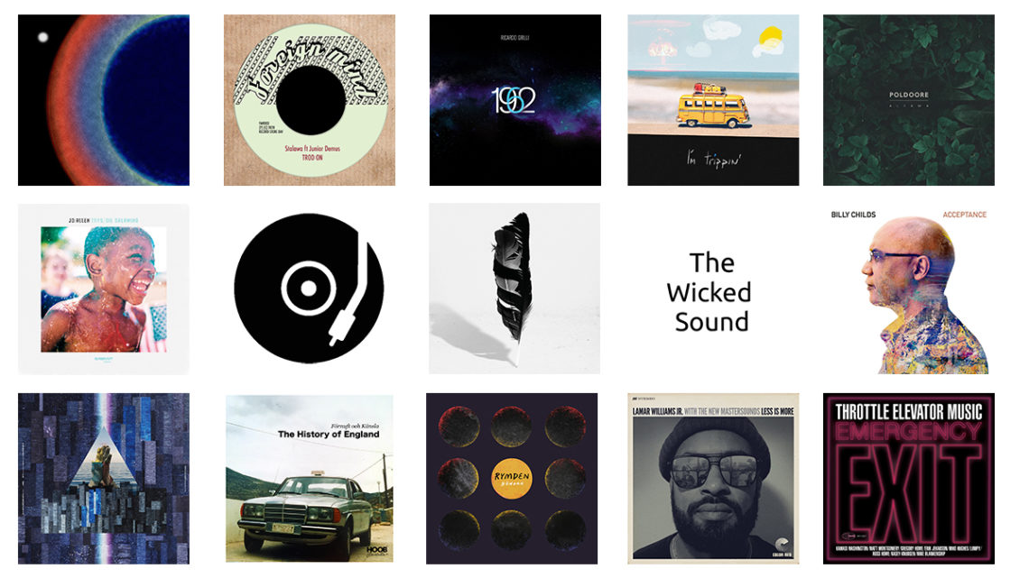 The Wicked Sound Playlist 2020.08.2 cover Jazz Funk Soul Beats