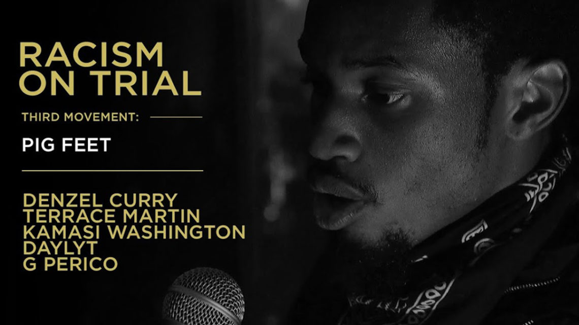 www.thewickedsound.com Terrace Martin Kamashi Washington Denzel Curry Racism on Trial.