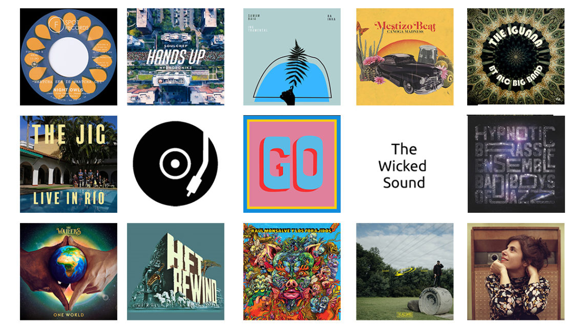 The Wicked Sound Playlist 2020.09.2 cover Jazz Funk Reggae