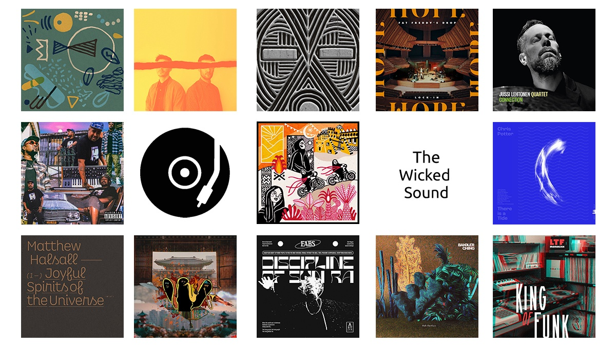 The Wicked Sound Playlist 2020.10.2 cover Jazz Soul Funk Dub Beats