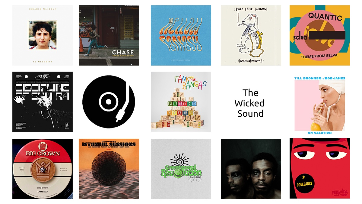 The Wicked Sound Playlist 2020.11.2 cover Jazz Funk Soul Reggae Beats