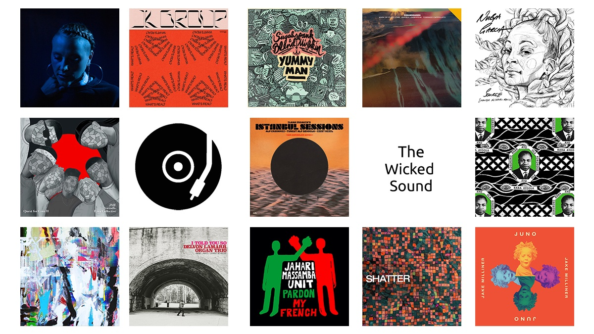 The Wicked Sound Playlist 2020.11.4 cover Jazz Funk Soul Reggae Beats