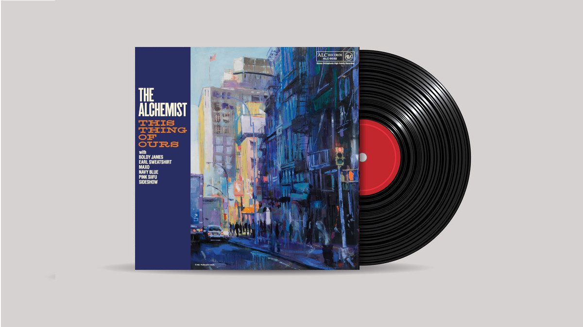 www.thewickedsound.com Album Picks BEATS The Alchemist This Thing Of Ours [ALC Records]